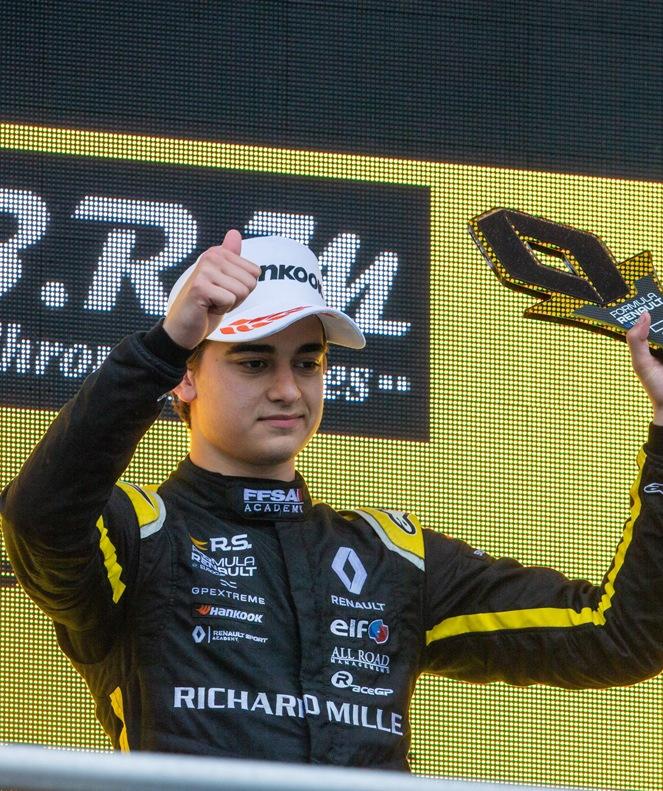Formula Renault Eurocup, Best rookie