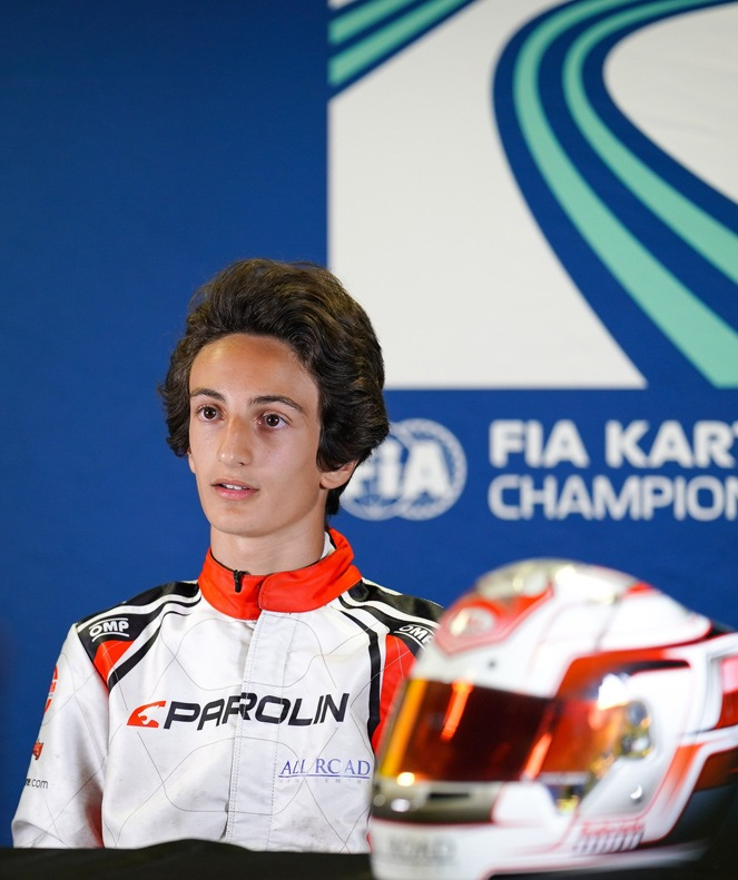 OK WSK Champions Cup, 2nd <br> FIA OK European Championship, 2nd