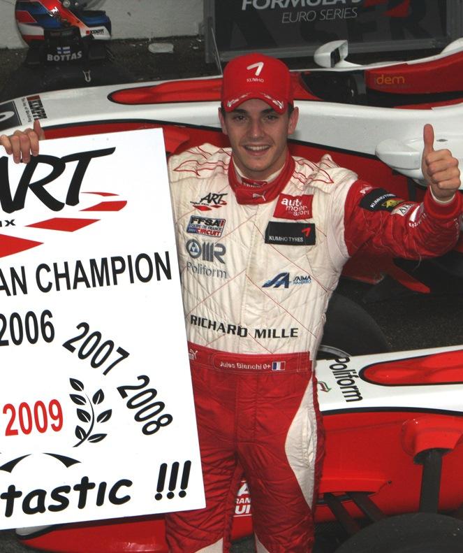 F3 Euroseries Champion